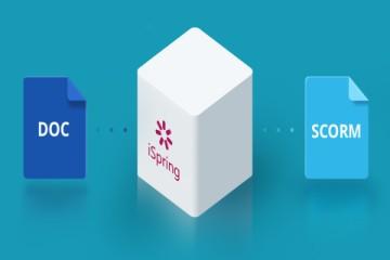 电子学习工具包iSpring Suite教程:如何将Word文档快速转换为SCORM