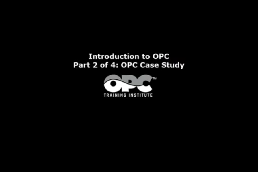 OPC Server视频教程:什么是OPC?——OPC案例研究