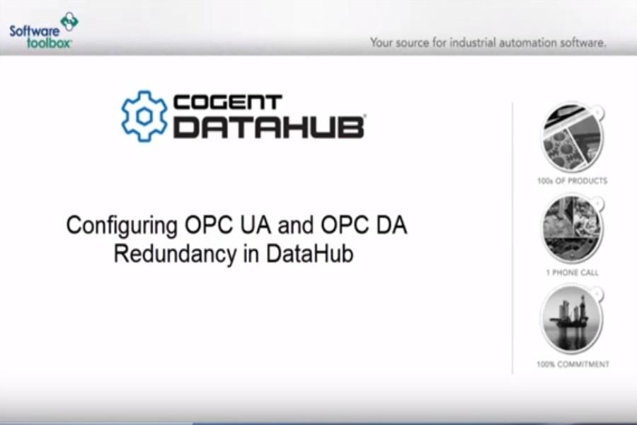 TOP Server视频教程:使用Cogent DataHub实现冗余OPC连接