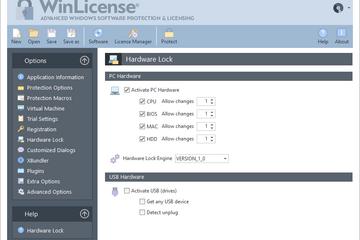 WinLicense预览:硬件锁