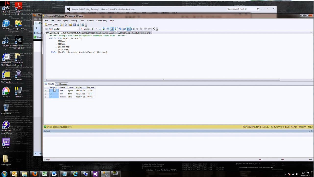 Kendo UI视频教程:开源Kendo UI的网格和日期