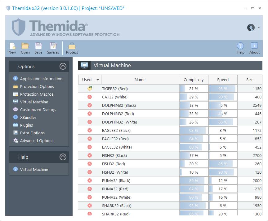 Themida预览:虚拟机