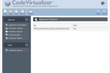 Code Virtualizer预览:高级选项