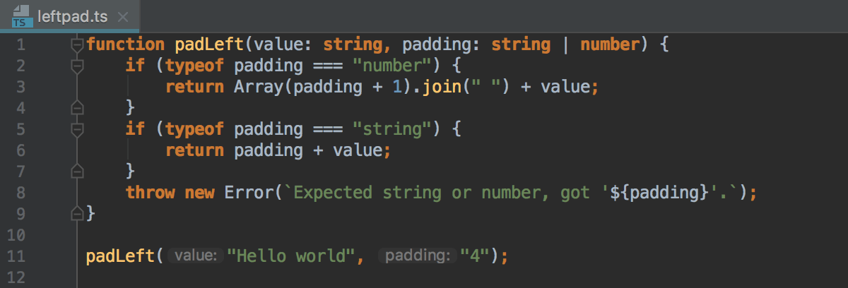 Java开发平台IntelliJ IDEA教程:开发,运行和调试TypeScript源代码