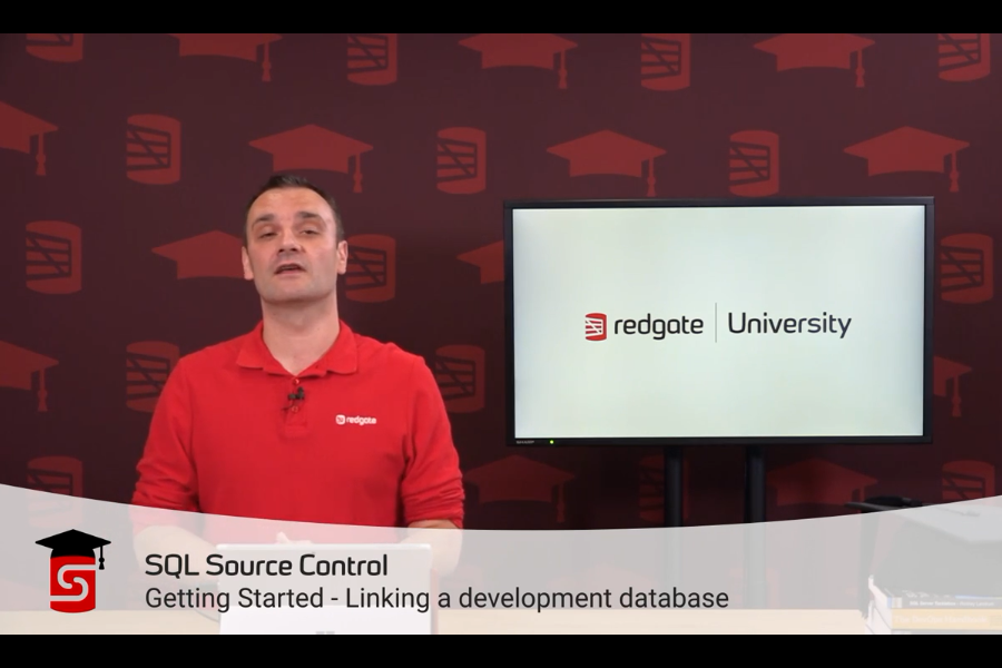 SQL Source Control视频教程:将开发数据库链接到源控制系统