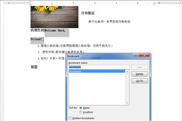 Word .NET库组件Spire.Doc系列教程(31): 添加,替换和删除 Word 书签