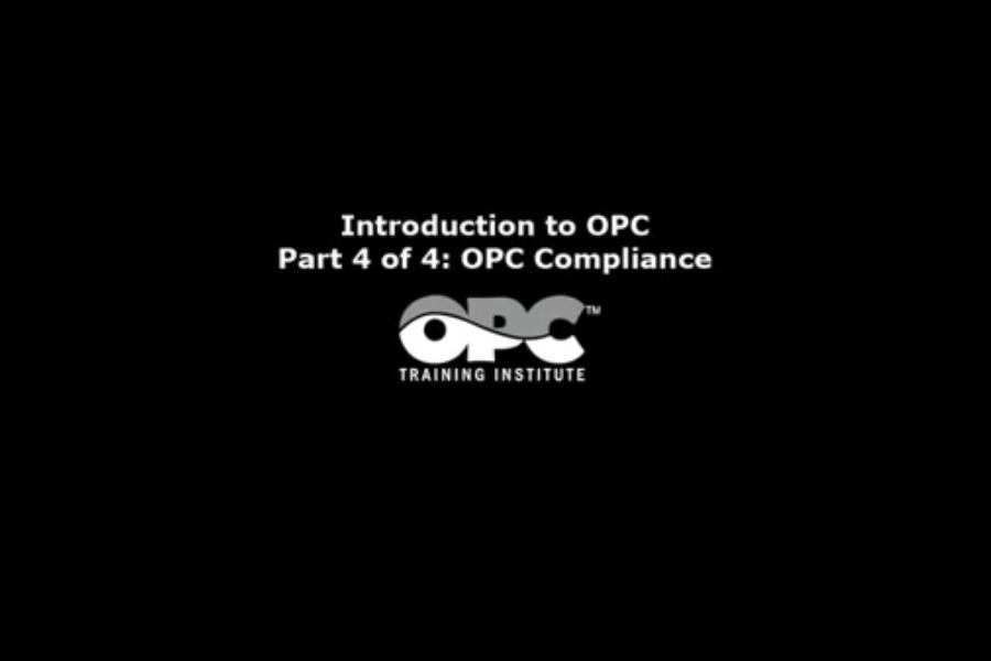 OPC Server视频教程:什么是OPC?——OPC合规性
