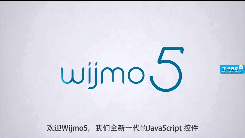 WijmoJS 5——新一代的JavaScript控件