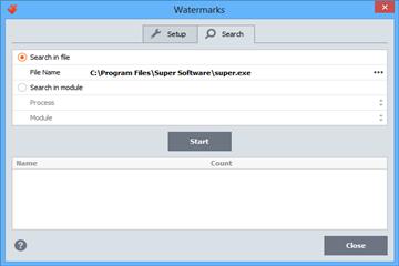 软件保护工具VMProtect用户手册——添加和搜索水印