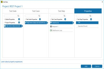 SoapUI Pro教程:Excel文件作为数据源(三)——配置测试步骤