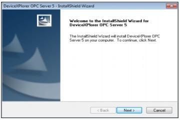 OPC Server用户指南:如何安装程序