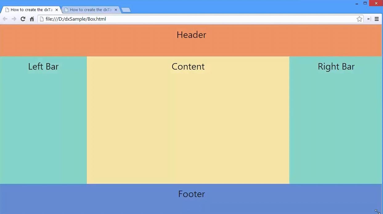 DevExtreme视频教程:HTML5 Box和ResponsiveBox入门指南