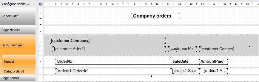 如何制作Master-Detail主从报表,加快数据查询&减少数据冗余
