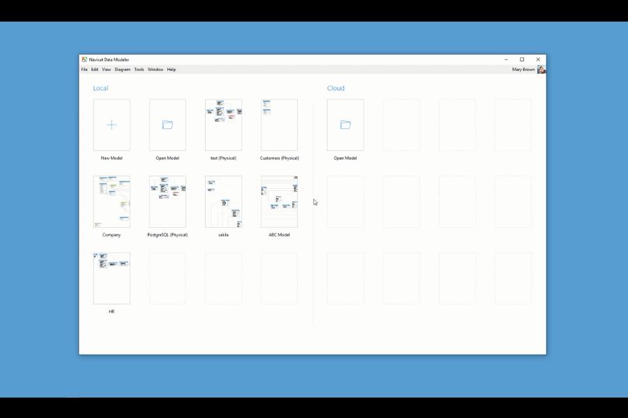 Navicat Data Modeler视频:如何创建模型并同步对数据库的更改?