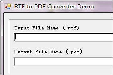 文件格式转换器RTF to PDF Converter新版本发布,改进了对PDF / A的支持