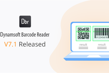 条码读取控件Dynamsoft Barcode Reader SDK发布最新版,引入全新参数