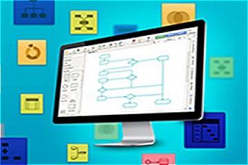 企业项目设计工具Visual Paradigm教程:数据流程图示例