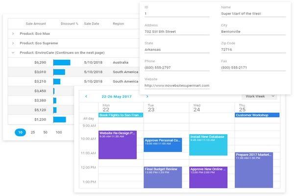 DevExtreme JavaScript Controls v19.1版本亮点:数据可视化和主题