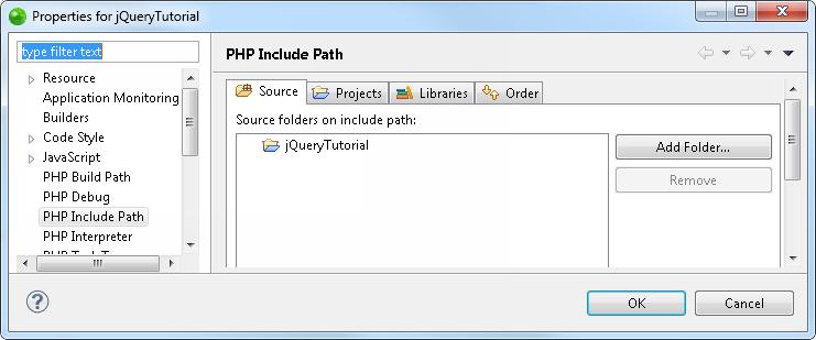 配置项目PHP包含路径