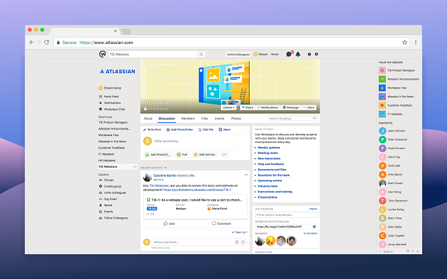 Jira Cloud for Workplace