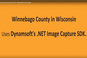 Winnebago County&Dynamsoft .NET TWAIN SDK案例研究