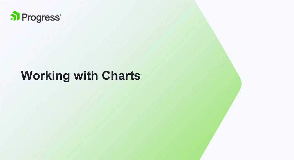 Kendo UI视频教程:使用图表