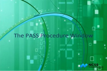 样本量估计软件PASS入门教程(五):程序窗口的输入选项选项卡