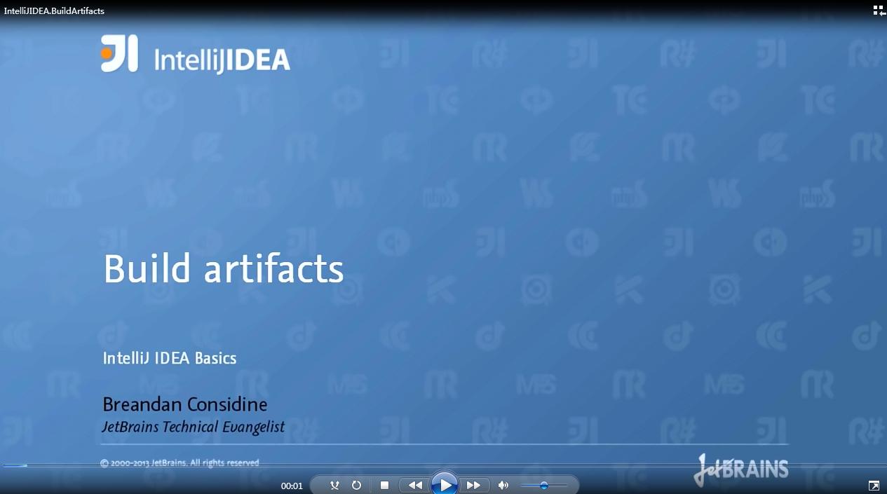 IntelliJ IDEA视频教程:构建事项