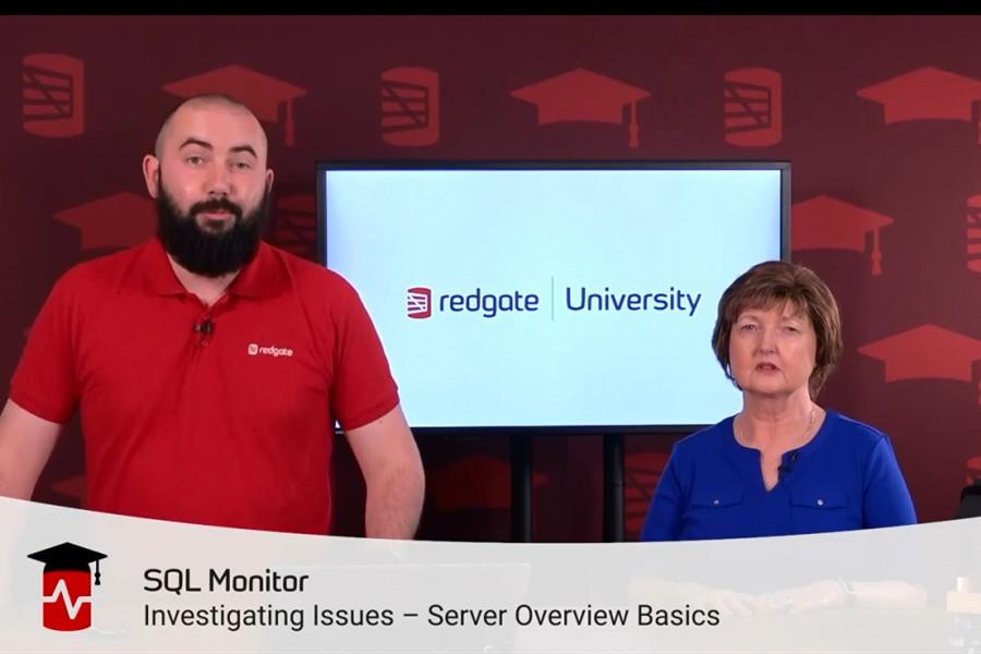 SQL Monitor入门视频:服务器概述基础
