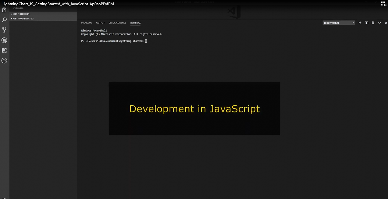 LightningChart JS入门视频(一):使用JavaScript