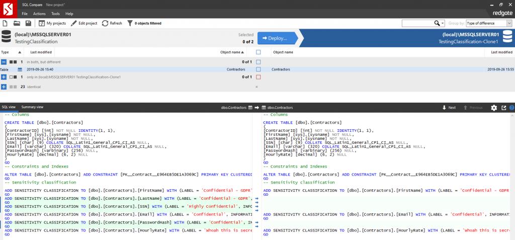 SQL Compare 14.0:Linux上的命令行界面以及对SQL Server 2019的支持