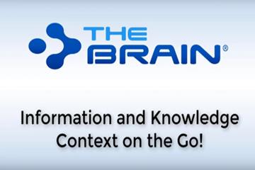 思维导图软件Thebrain网络研讨会——随时随地快速捕获信息和知识!