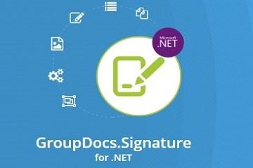 GroupDocs.Signature for.net v19.9试用版下载