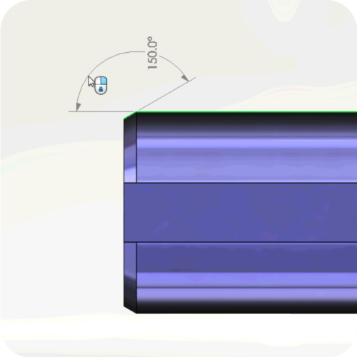 如何使用SolidWorks MBD定义轴,如何确定3D中工程图切向或轮廓边的尺寸