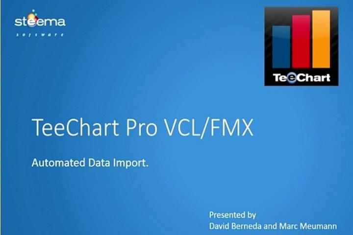 TeeChart Pro VCL/FMX自动数据导入