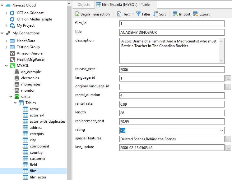 Navicat使用教程:在MySQL中执行全文搜索(第1部分)