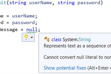 C#8.0-可空引用类型
