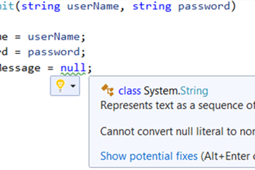 C#8.0是什么?在C#程序中使用nullable可避免Null Reference Exception