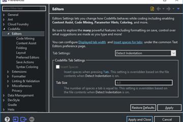 CodeMix使用教程:编辑