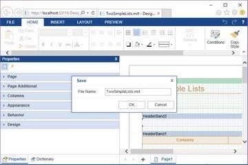 Stimulsoft ASP.NET MVC报表教程:在设计器中保存报表模板