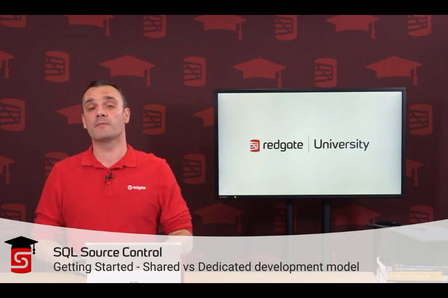 SQL Source Control视频教程:共享与专用开发模型