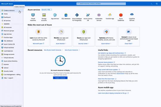 Visual Studio教程:将ASP.NET Core应用程序部署到Azure
