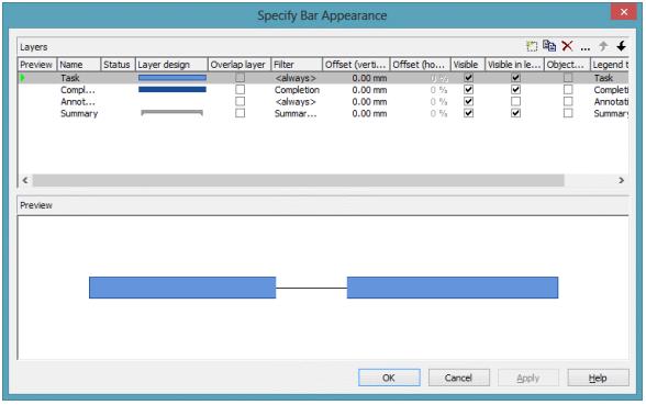 VARCHART XGantt用户手册:如何将过滤器应用于图层