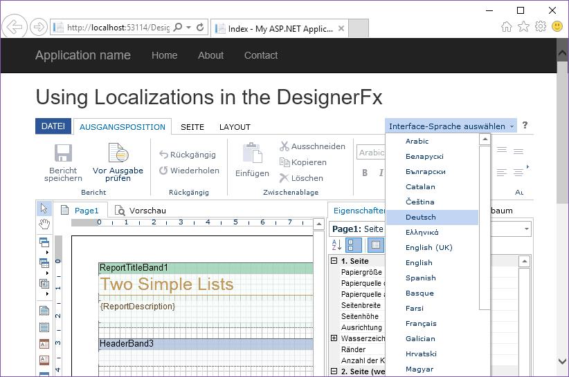 Stimulsoft ASP.NET MVC报表教程:在DESIGNERFX中使用本地化功能