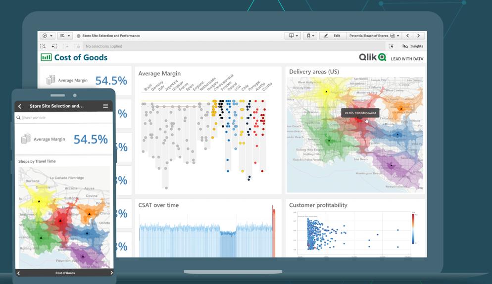Qlik推出第三代BI平台最新的云分析产品——Qlik Sense Business
