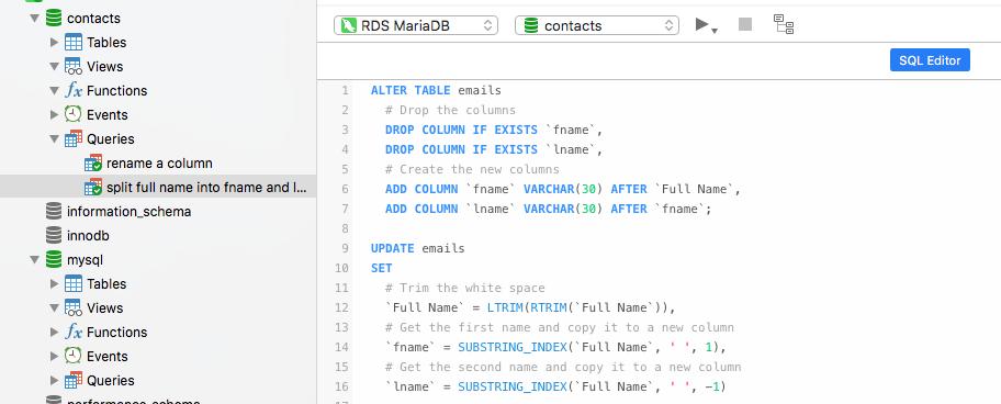 Navicat使用教程:一些关于MySQL的技巧和窍门