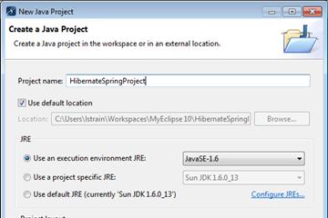 MyEclipse数据库教程:使用Hibernate和Spring执行数据库操作(一)