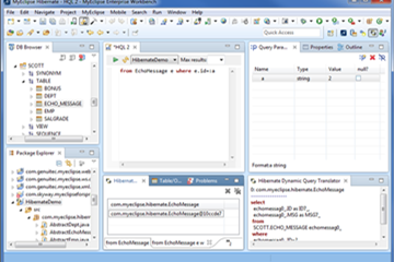MyEclipse示例:使用Hibernate开发Persistence时用到的模板