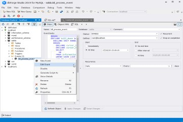 dbForge Studio for MySQL入门教程:终止与MySQL数据库的某些连接