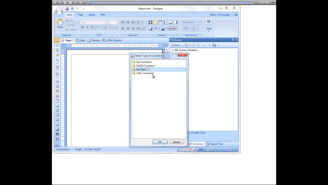 Stimulsoft报表工具:在页面和细分上使用交叉表创建报表